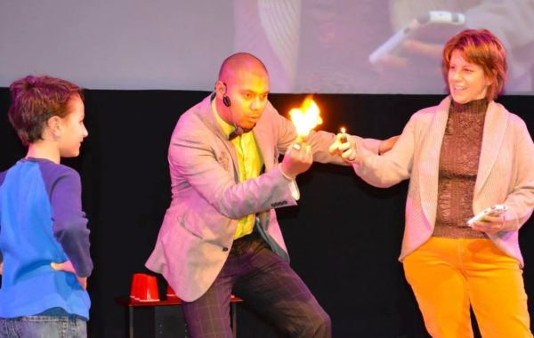 Magic at the science center