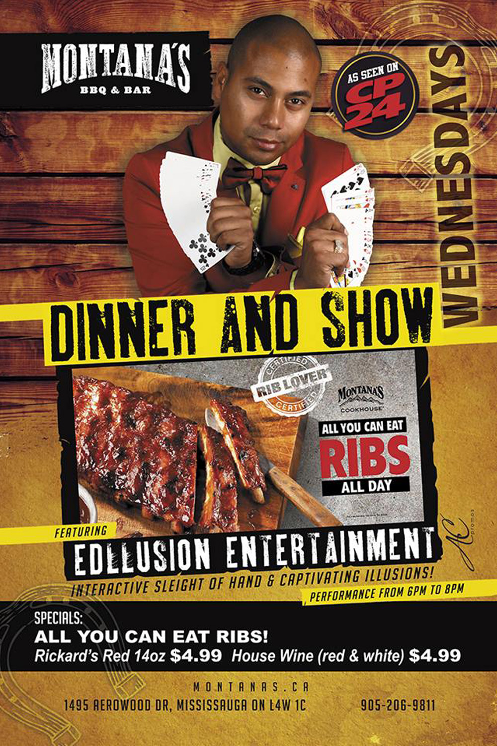 magic shows in toronto with dinner edllusion
